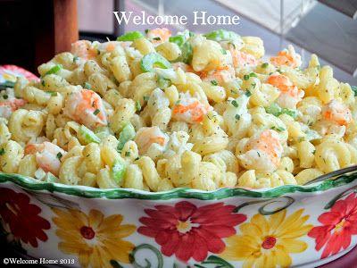 ♥ Macaroni Shrimp Salad