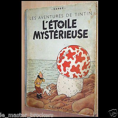 Tintin L'étoile Mystérieuse Album collection Hergé B1 Casterman BD