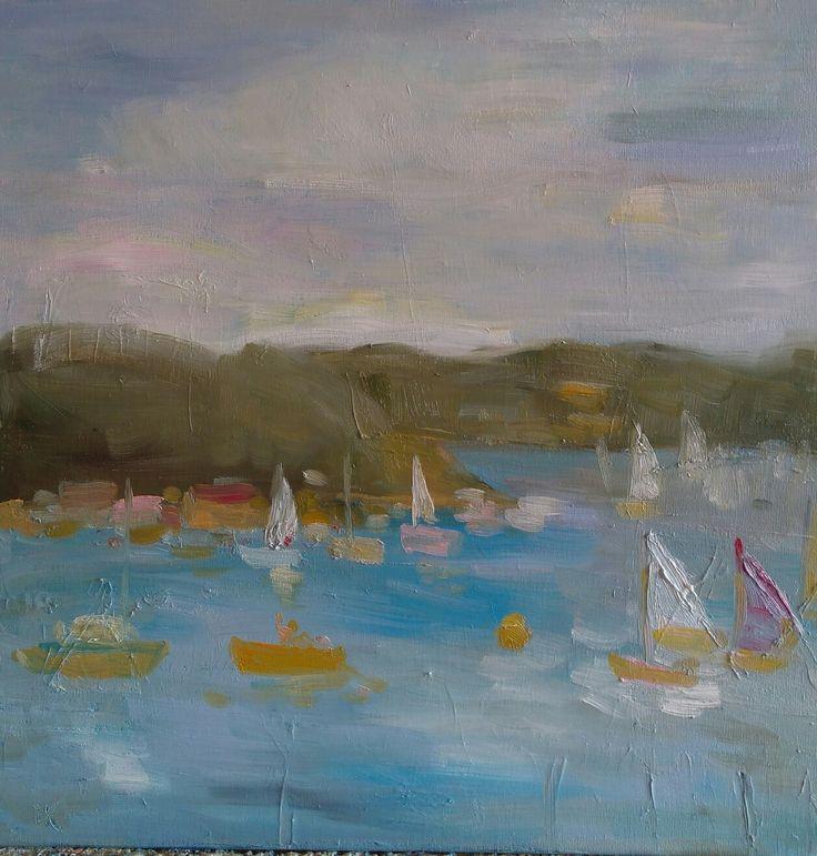 #kobus#malgorzata#painting#malarstwo#on The lake