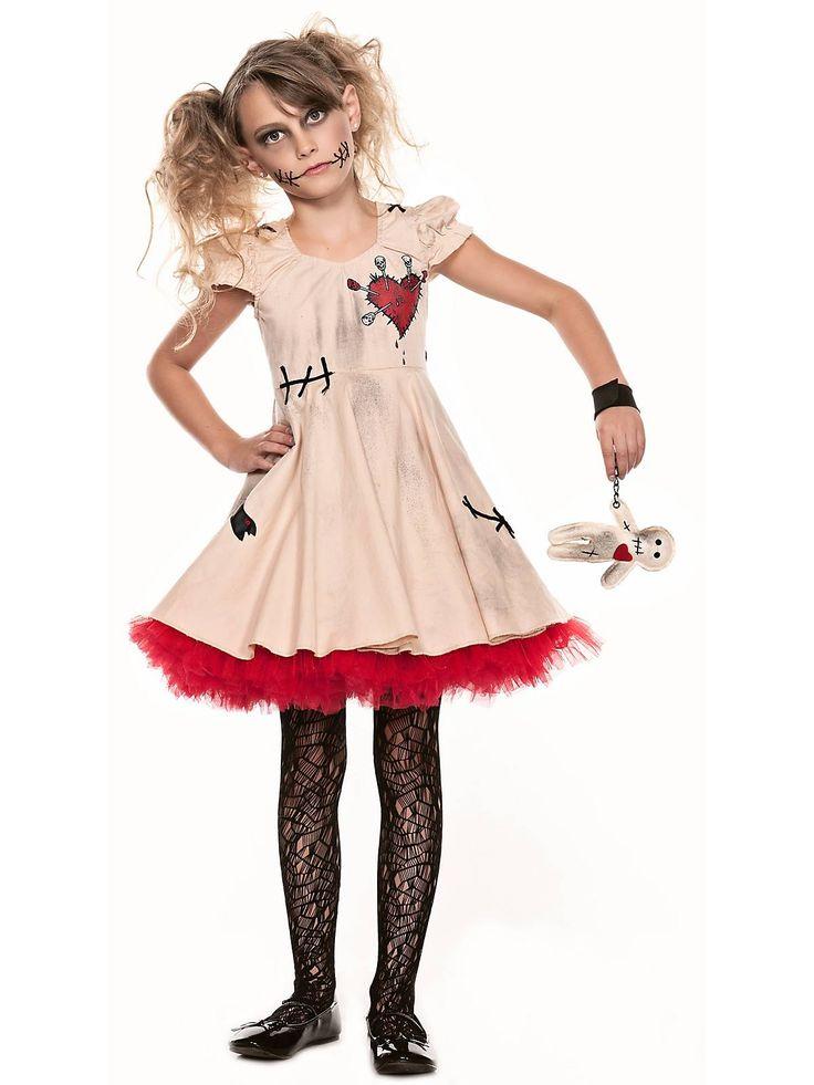 girls tween voodoo doll costume wholesale tween costumes for girls