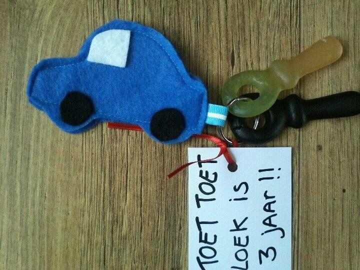 snoep auto sleutel traktatie