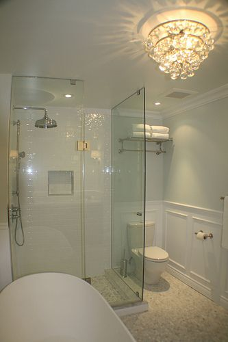 Does your shower look like this coordinated decorative shower bottles