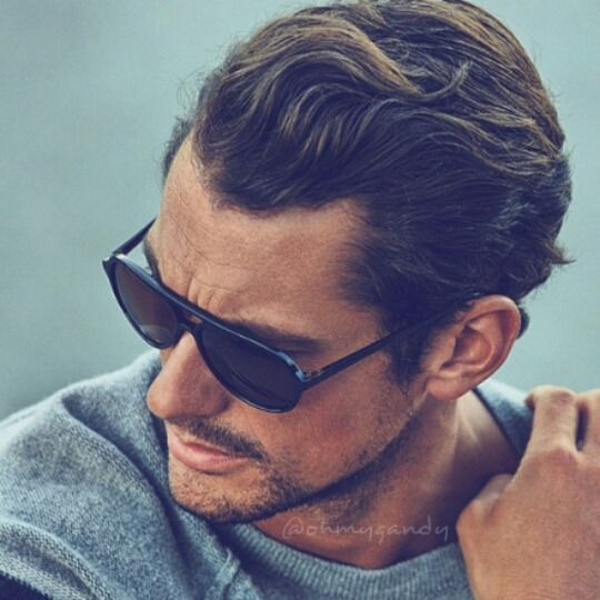 Husband keeps losing his shades, maybe should never get him expensive ones. These shades, I presume, r by Dolce Gabbana since David Gandy models for them? Nice shades for men -Mari