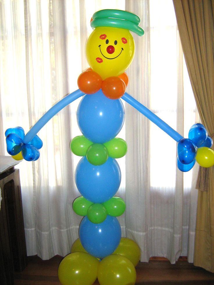 Les dejo hermosos y fáciles arreglos con globos que encontré en Internet, ideales para fiestas infantiles. La rana René: Arb...