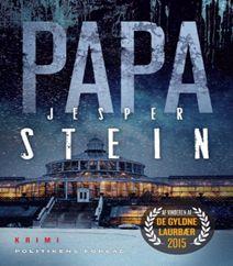 Papa af Jesper Stein er femte bind i krimiserien om vicepolitikommissær Axel Steen, der kæmper med en ny stor og kompliceret sag. Papa er en rå kriminalroman, som handler om kærlighed, svigt, fædre og flugt fra én selv. Klik på forsidefotoet og læs mere om kriminalromanen Papa af Jesper Stein.