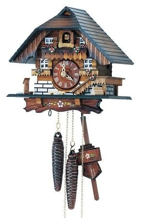 Cuckoo Kingdom, inc - Cuckoo Clock | Black Forest Farmhouse | Hand Painted | Model 113/10, (http://www.cuckookingdom.com/cuckoo-clock-black-forest-farmhouse-hand-painted-model-113-10/)