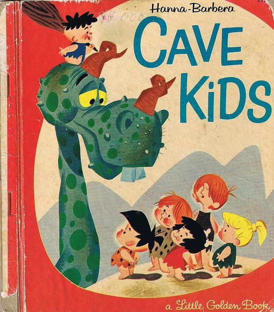 CAVE KIDS, Little Golden Book, Hanna Barbera, Four colour back | Flickr - Photo Sharing!