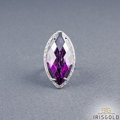 Δαχτυλίδι Purple Zirgon