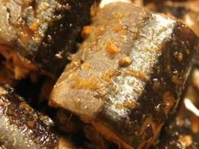 圧力鍋で骨まで食べられるさんまの生姜煮の画像