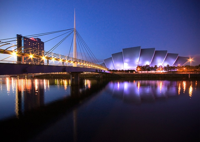 The Armadillo venue at night, Glasgow. #glasgow2014 #glasgow #scotland www.glasgow2014.com