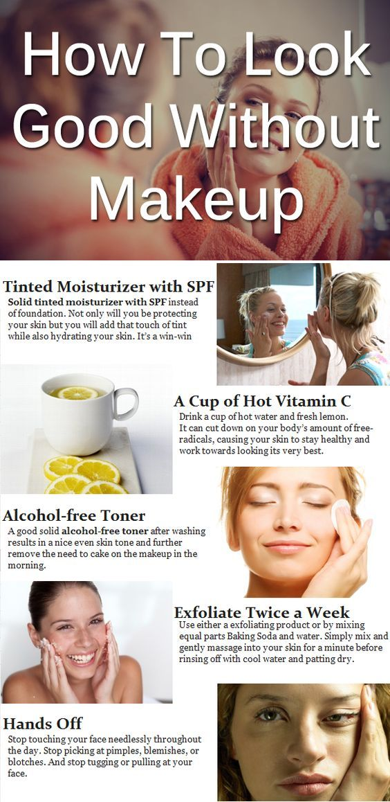 These 8 Charts for Clear Skin are SO GOOD! I've already tried a few of the tips and my skin looks GREAT! I'm so glad I found this! Now I can start wearing less makeup!