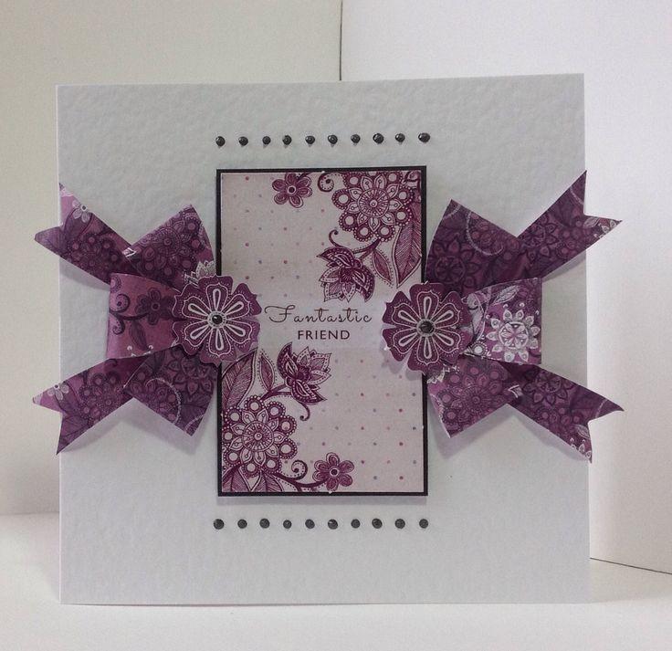 Velvet Plum card designed by Neil Burley