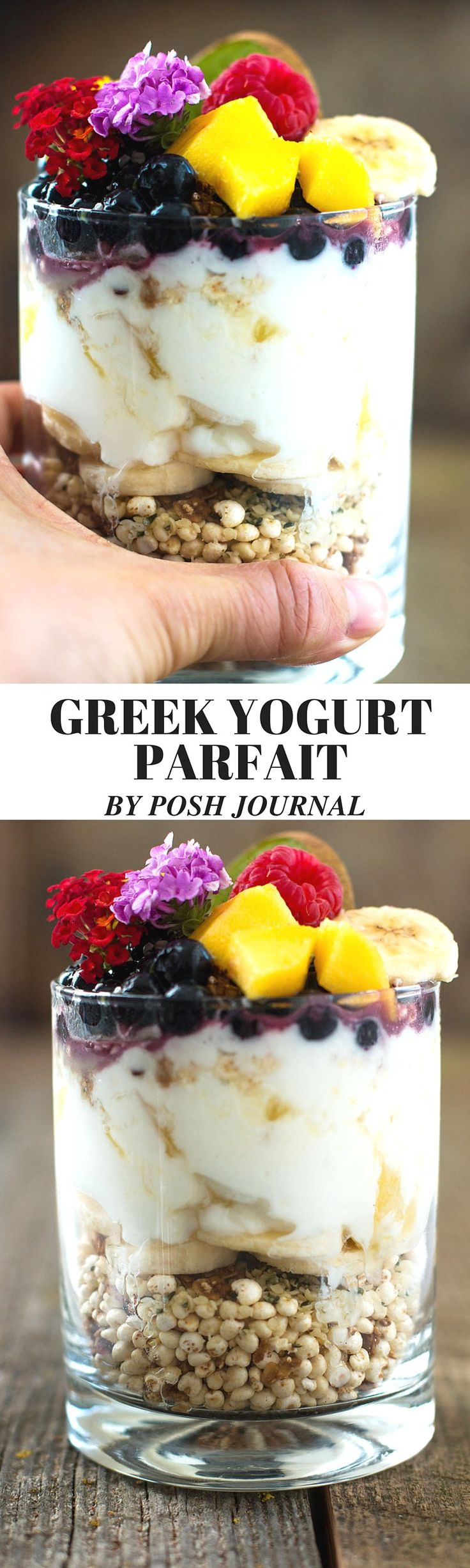 Staying Healthy as Family + Easy Fruit Yogurt Parfait Recipe - Posh Journal #ad