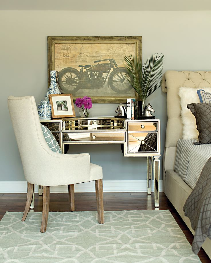 on desk of farmhouse with lights bedroom ideas down mirror makeup fold large size vanity for