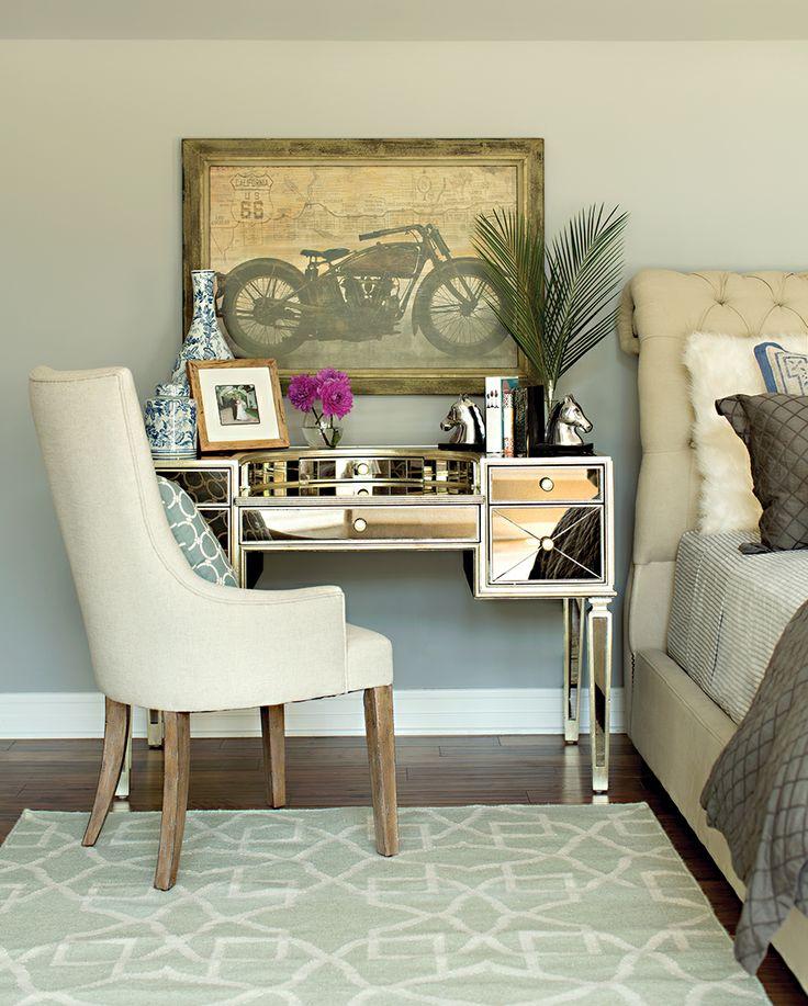 1000+ Ideas About Mirrored Vanity Desk On Pinterest