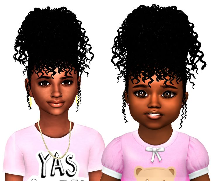 88 Best Ts4 Toddlers Hair Images On Pinterest Children