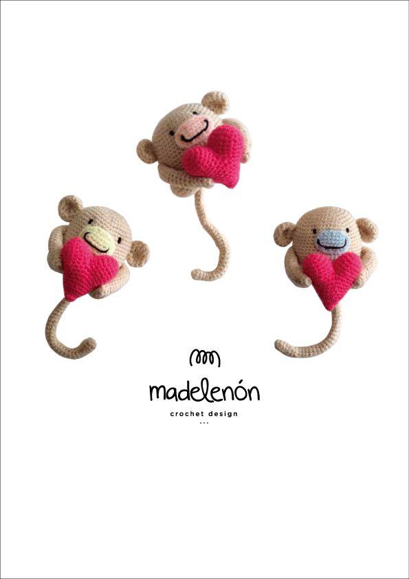 "Madelenón crochet pattern "" My Jungle"""