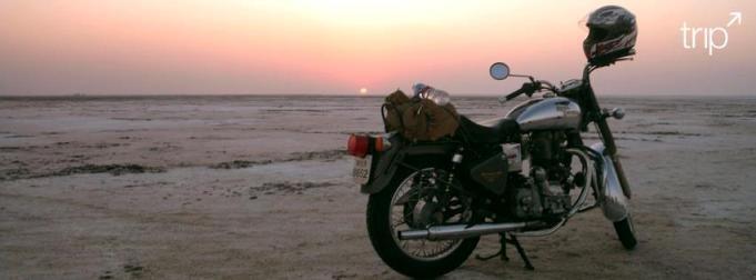 Sunset on the Rann of Kutch