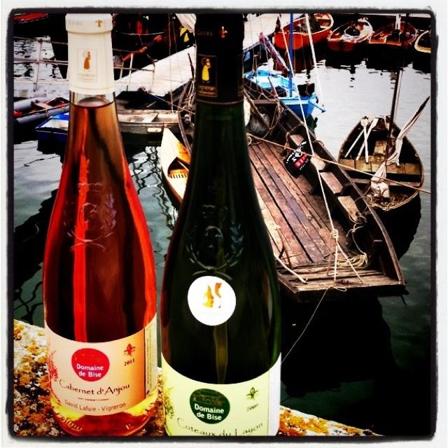 Fin de balade pour Coteaux du Layon et Cabernet d'Anjou a Temps Fete 2012 Douarnenez