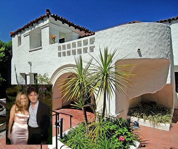 Charlie Sheen and Brooke Mueller Selling Mediterranean-Style House in Los Feliz