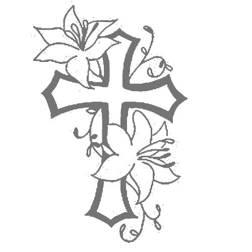 10 best images about Cross on Pinterest | Monogram decal ...