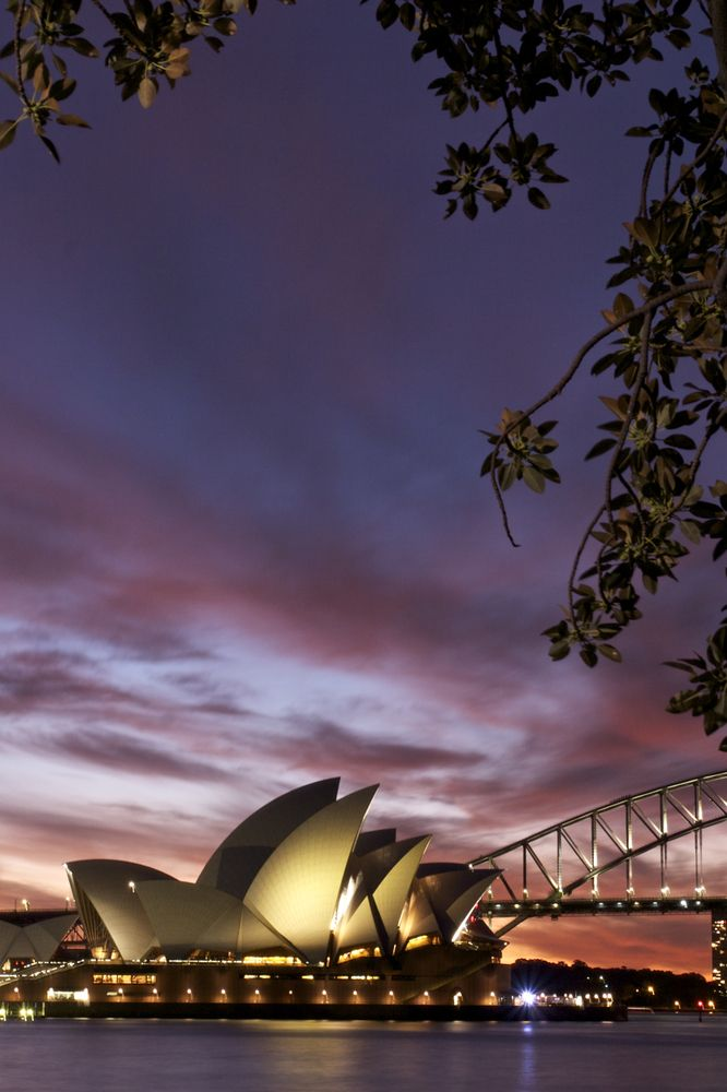 Sydney. I want to go see this place one day.