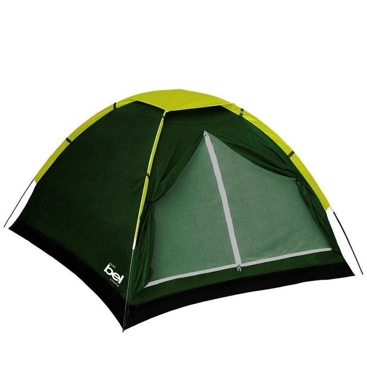 Barraca Camping Iglu 2 Pessoas c/ Sobre Teto Belfix. Capacidade para até 2 pessoas, 800mm de coluna de água.