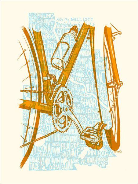 Minneapolis biking