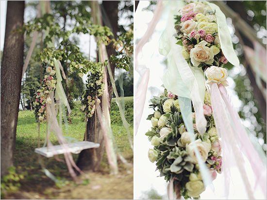 wedding swing~ Elegant & Romantic Wedding Sonya Khegay Photography ♥'d by wedfunapps.com