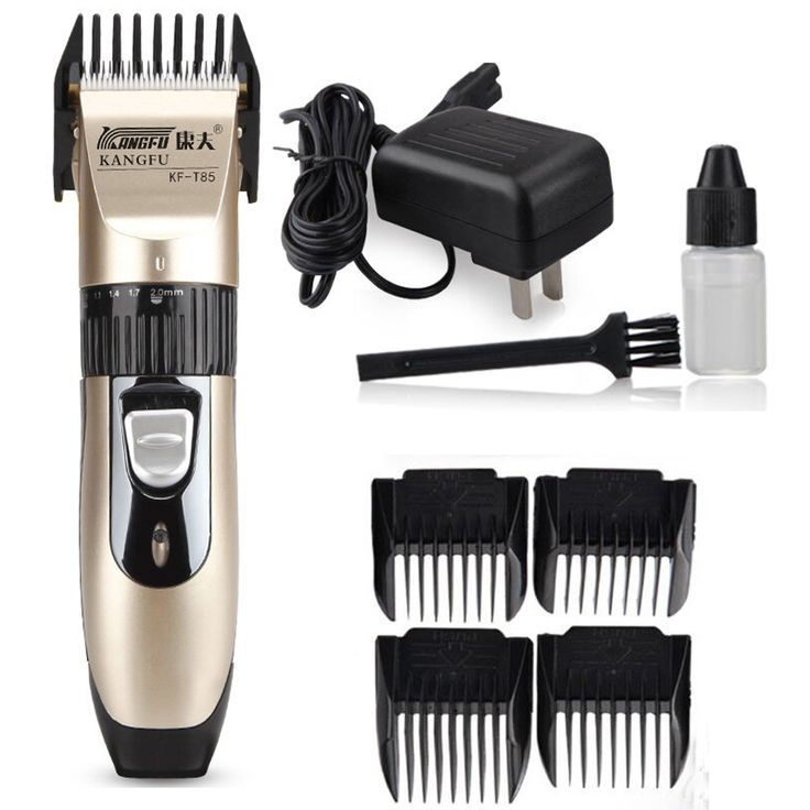 23.38$  Buy here - http://aliiuf.shopchina.info/go.php?t=32660056248 - Professional Hair Clipper Hair Trimmer For Men Electric Cutter Hair Cutting Machine Haircut For Barber Titanium Blade  #aliexpress