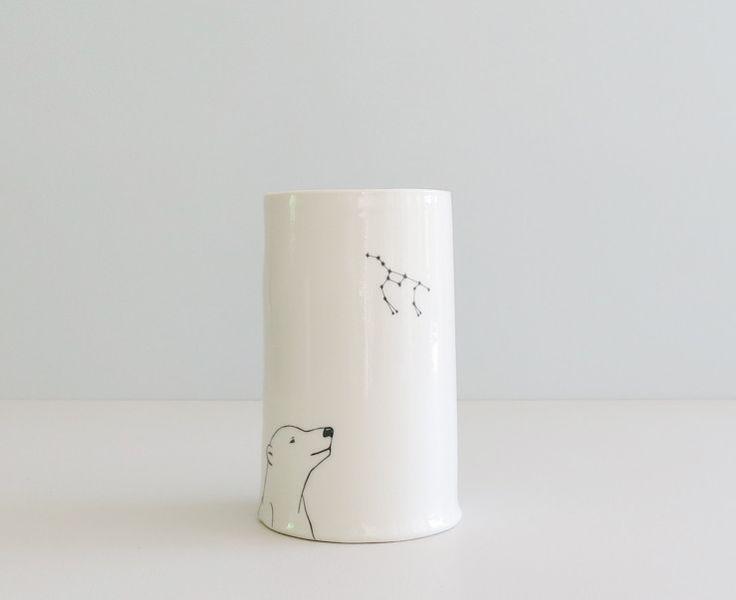 "Vase XL ""Isbjørn"" | Clayfever"