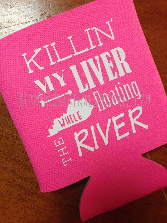 The perfect koozie for your next kayak or canoe trip! State can be replaced with ANY state, please leave details in the notes at checkout. Larger