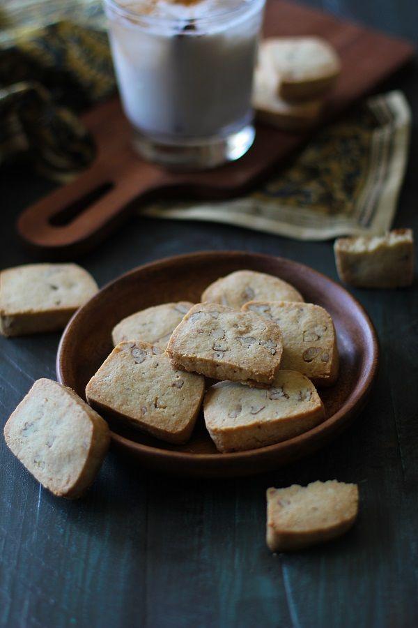 Maple Pecan Gluten Free Shortbread | dairy free, sugar free, vegan ...