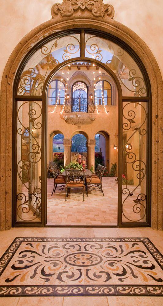 old world mediterranean italian spanish tuscan homes design decor - Old World Design Homes