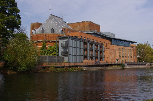 The Royal Shakespeare Theatre in     		Stratford-upon-Avon, Warwickshire