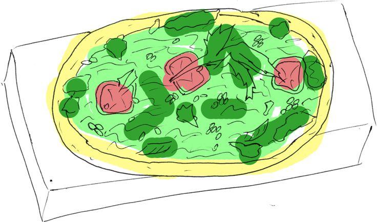 Glutenfri Vegan-pizza - recept - Recept (Varmrätt & Övrigt) - Vegan iFokus