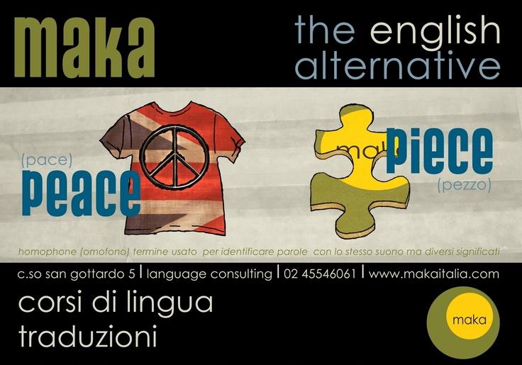 homophone: peace-piece
