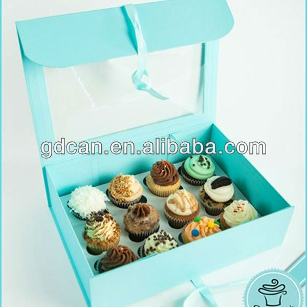 custom cupcake boxes wholesale $0.3~$1