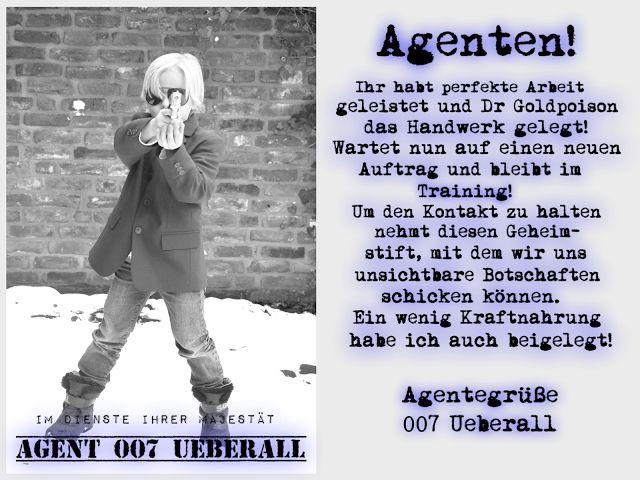 Überall U0026 Nirgendwo: Agentengeburtstag......the Whole Story! Teil