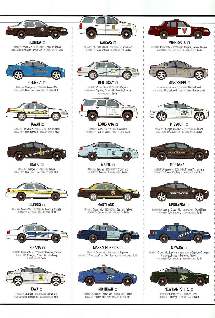 State Trooper Vehicle's