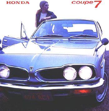 Honda 1300 Coupé 7 - brochure (1972)