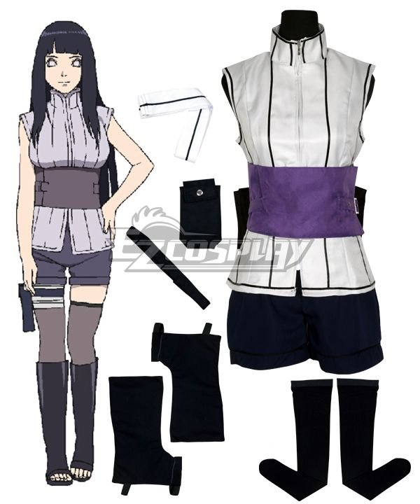 The Movie The Last Naruto Hinata Cosplay Costume