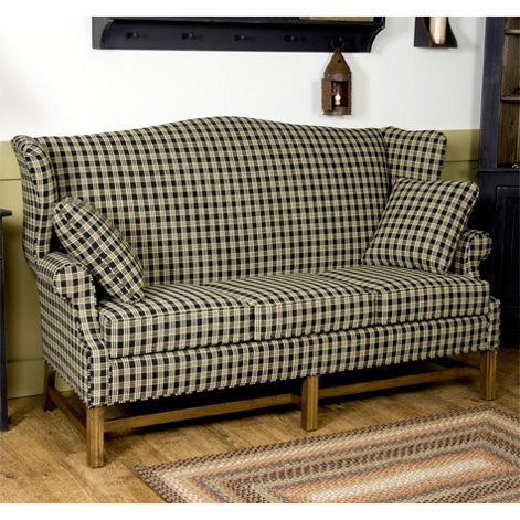 colonial wingback sofas wayfair leather sofa sets 8 best upholstered furniture images on pinterest chairs not the pattern just style and maybe as a sectional