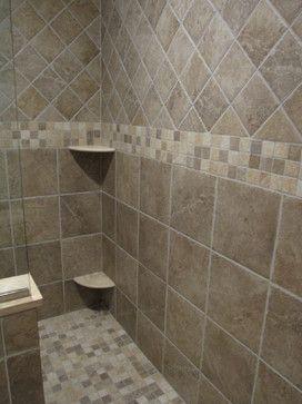 Shower Tile Design Ideas tiled enclosure with walk in rain shower Bathroom Tile Patterns Design Ideas Pictures Remodel And Decor Page 5
