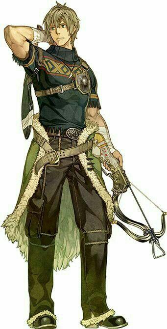 Human Crossbowman - Pathfinder PFRPG DND D&D d20 fantasy
