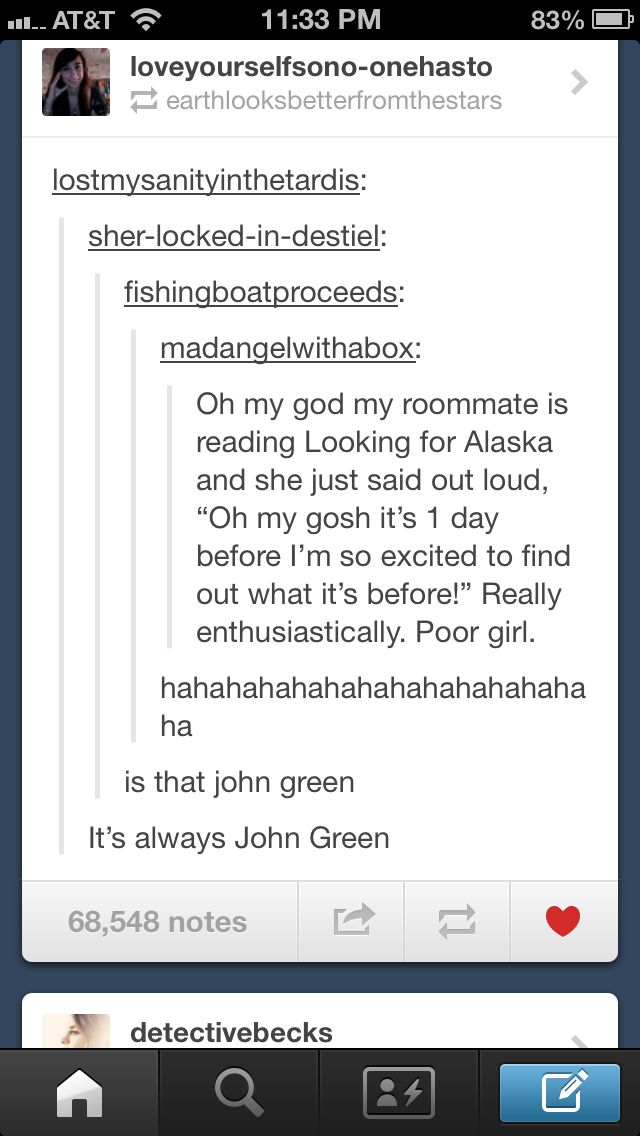 John Green trolls people on tumblr
