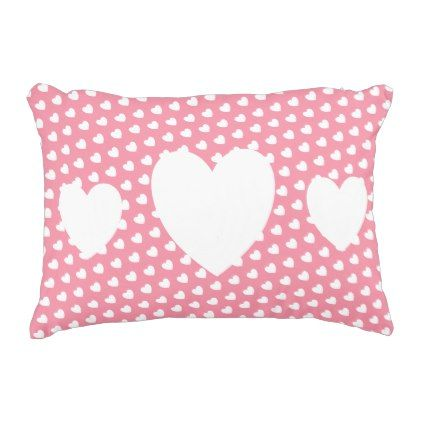 Love Hearts Cushion - home gifts ideas decor special unique custom individual customized individualized