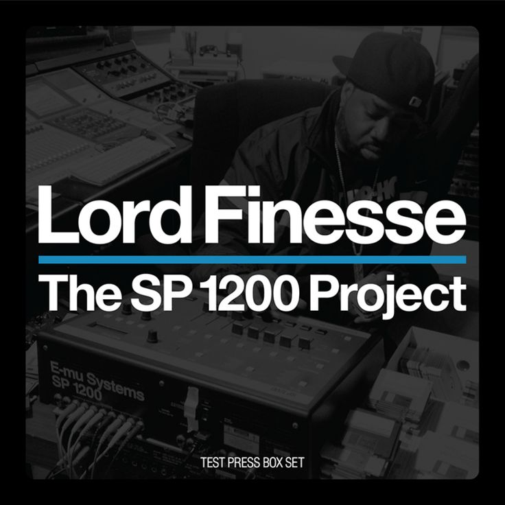 Beat Tape: Lord Finesse (@LordFinesseDITC) » The SP1200 Project (Sampler)