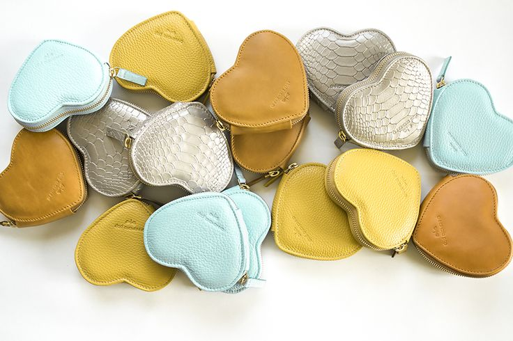 LUISA Heart purses by Annamaria Pap