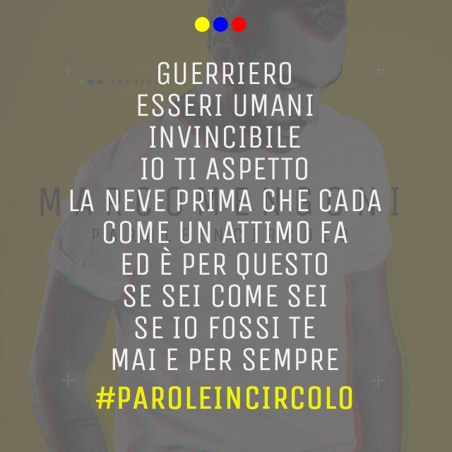 #PAROLEINCIRCOLO